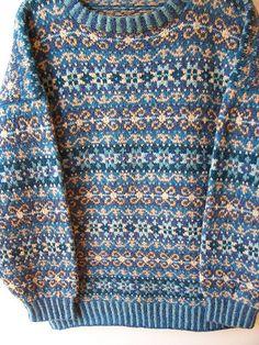 Ravelry: Sandwater Jumper / Star Struck pattern by Ann Feitelson