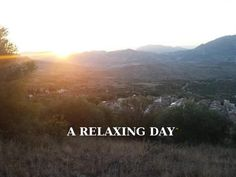 A RELAXING DAY - awesome crowdfunding