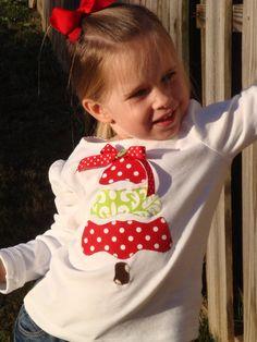 christmas tree shirt- cute!