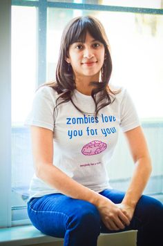 Zombies love you for your Brain:: http://everybodyhasabrain.spreadshirt.com/p2