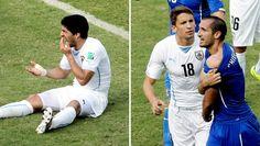 Luis Suarez Apologizes to Giorgio Chiellini for Bite
