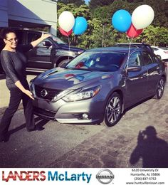 Congratulations Theresa on your #Nissan #Altima from Weston Callahan at Landers McLarty Nissan !  https://deliverymaxx.com/DealerReviews.aspx?DealerCode=RKUY  #LandersMcLartyNissan