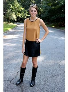 Campbell Colorblock Dress