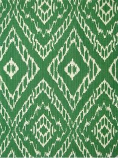 "Strie Ikat Malachite Robert Allen Fabric - Up the roll reversable ikat double cloth, 55,000 DB for heavy use upholstery. Soft enough for drapery panels or pillows. 51% rayon, 49% cotton. Repeat; V, 9.5"" - H, 4.5"". 54"" wide"