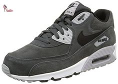 Nike Air Max 1 Ultra Moire - Chaussures De Sport, Homme, Gris (MTLC Cool Grey/Gym Red-White), Taille 43