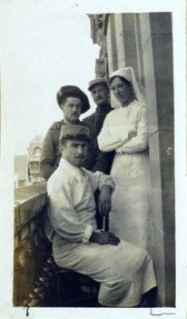 World War I Centenary Forum: The Frances Dupuy Fletcher Photo Album - #NLMHistTalk #WW1 Tune in at 2 PM ET on April 6. Image: Photograph from the Frances Dupuy Fletcher Photo Album, NLM Prints and Photographs collection.