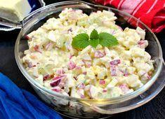 Un mic dejun copios sau o garnitura delicioasa langa o friptura facuta la gratar, este savuroasa Salata cu ridichi si branza crema