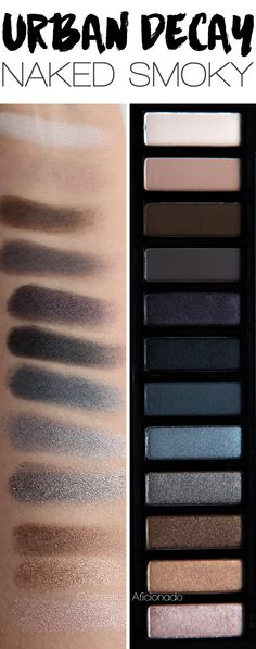 Review and swatches of the Urban Decay Naked Smoky palette, hit or hype?