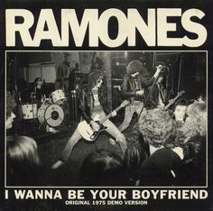 "Ramones - I wanna be your boyfriend 7"" US 1997 Cover by Pete Ciccone"