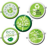 Happy Earth Day! Go Green - these little buttons will bring environmental awareness to those around you! Fifty percent of your environmental awareness button purchase will be donated to I Love a Clean San Diego. #SurferGirlCreations