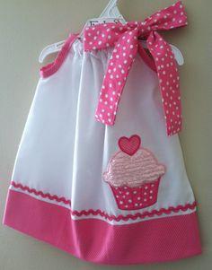 Adorable New Cupcake pillowcase style dress.