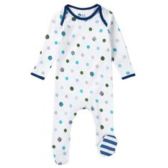 Keep Baby snug as a bug on those #AutumnDays with this Piccalilly Footed Playsuit. Available at Wauwaa http://bit.ly/1ml6YZt @wauwaauk