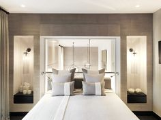 CovetED Magazine Interior Design Trends 2016 from Kelly Hoppen bedroom design Interior Design Trends, Top Interior Designers, Interior Design Inspiration, Luxury Interior, Bedroom Inspiration, Luxury Furniture, Kelly Hoppen Interiors, Modern Bedroom Design, Bedroom Designs