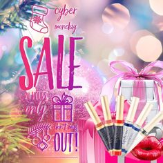 Cyber Monday Sale I can't believe it's already holiday  time already!  Tomorrow is Cyber Monday and I know some of you ladies love the excitement of getting out there in the crowds and snagging those deals but for those of you who prefer to stay home and buy online you are in  luck!!! So let your hubby know what's on your wish  list. LipSense makes a great stocking stuffer!  I also offers gift certificates as an easy option for those not sure what color to give!!! 15% off Starter…