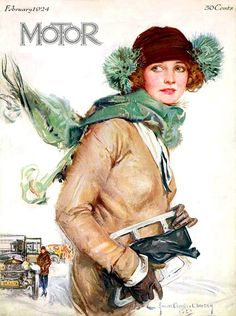 Motor magazine Cover by Howard Chandler Christie    http://www.magazineart.org/main.php?g2_view=core.DownloadItem_itemId=10756_serialNumber=2