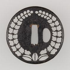Sword Guard (Tsuba) | Japanese | The Met. Edo period