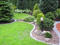 home garden home garden Diy Landscaping, Garden Yard Ideas, Patio Garden, Small Patio Garden, Garden Landscape Design, Conifers Garden, Front Yard Garden Design, Garden Decor Projects, Easy Landscaping Diy