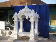 White Marble Temple - Our company is a very prominent name of the market for providing a wide range of White Marble Temple to our esteemed consumers.