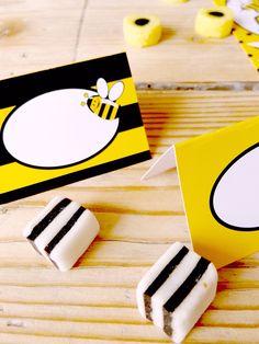 Etykietki na imprezę Pszczółki :-)