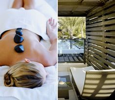 Get pampered at the Omphoy in Palm Beach.