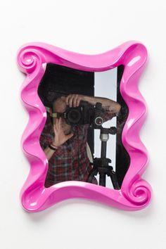 Mirror Wonderland Pink 51x40cm