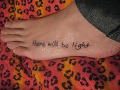 Next to Normal Tattoo