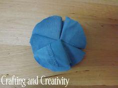 Crafting and Creativity: how to make t-shirt pom pom flowers