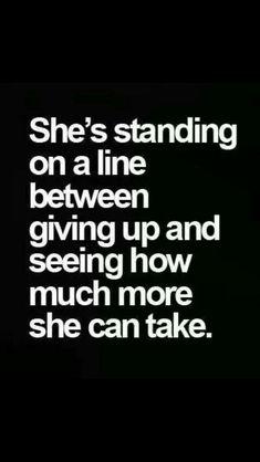 Thin line...