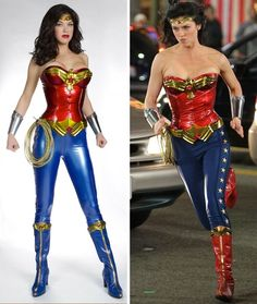 Adrianne Palicki in New Wonder Woman Costume