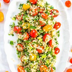 When I told my family I was going to make tabbouleh they said, Tab what? Tabbouleh. The ridiculously easy, no-cooking-required dish that's along the lines of couscous or quinoa mixed with vegetables, herbs, lemon, and olive oil. Healthy and packed with flavor. After making it yourself and tasting how fresh and vibrant homemade is, you'll …