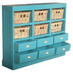 Nantucket Cabinet in Sky Blue Pin It