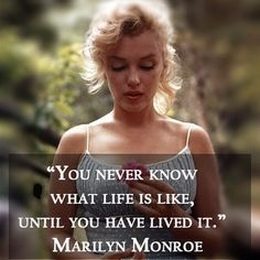 My Favorite Marilyn Monroe Quote