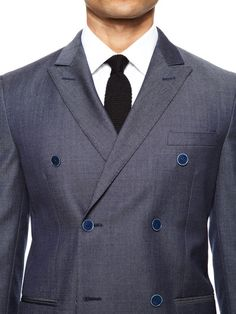A$714.49 Valentino Double Breasted Suit. Pic 2 of the button stance