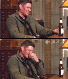 Gag reel from season 12 of Supernatural. I just love that they never stop goofing off on set. Lol