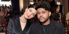 """Bella Hadid and The Weeknd Were """"Kissing All Night"""" at a Coachella Afterparty"""