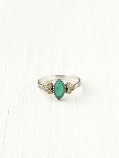 Bora Diamond Stone Ring at Free People