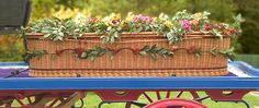 """Wicker coffins are biodegradable, handmade, and beautiful. In fact, the word """"coffin"""" is derived from the Greek """"kophinos"""" or basket."""