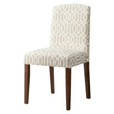 Marion Dining Chair Lattice - cute! Maybe for entryway instead of a bench and another for a sitting area in kitchen?