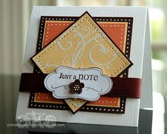 Just A Note by PickleTree - Cards and Paper Crafts at Splitcoaststampers
