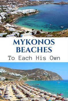 Mykonos Beaches: To Each His Own | Travellector #Mykonos #beaches #Greece #travel