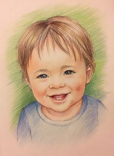 """Custom Portrait the best gift for any occasion! I use pencils and paper of high quality. This is 8x12"""" drawing, but you can order a different size portrait in my other items. Please choose the number of people in the drawing from the drop down list to see the price for your drawing.  IMPORTANT INFORMATION! If you want to order a portrait please discuss with me all the details before ordering! Thank you  How to custom the original portrait? 1. You can send me the photo via etsy ,or my mail…"""