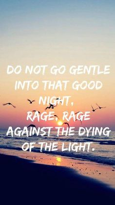 Do not go gentle into that good night, Rage, rage against the dying of the light. #AdiosAyer #LiveAndLetDie #VOODOOTIME