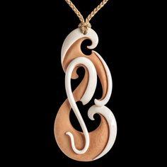 New Zealand Maori New Life Necklace