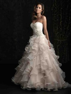 Cheap princess bridal gown, Buy Quality wedding dress sweetheart directly from China bridal gown Suppliers: 2017 Elegant Ruffle Wedding Dresses Sweetheart A-line Organza Court Train Princess Bridal Gowns vestidos de noiva Custom Made 2015 Wedding Dresses, Wedding Dress Sizes, Bridal Dresses, Gown Wedding, Ivory Wedding, Dresses 2014, Discounted Wedding Dresses, Swarovski Wedding Dress, Disney Inspired Wedding Dresses