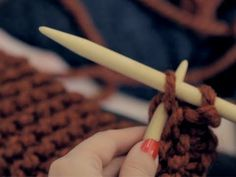 The LEAF Series: Como tricotar - YouTube