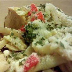 Pasta, Chicken and Artichokes