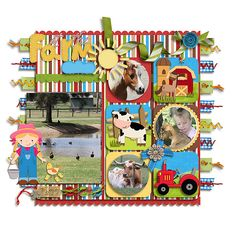 #scrapbook page idea