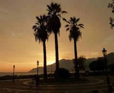 Tramonto a Salerno