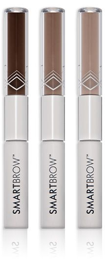 SmartBrow Eyebrow Filler: Innovative way to get better brows. What sets it apart from pencils and powders is its unique formulation, which leverages polymers and binds microscopic hair-like fibers to your existing brows as well as fills in any thinning or sparse spots. No brows? No problem. The result is fuller brows that not only look natural, but will stay put all day.