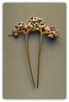Lucien Gaillard | Art Nouveau Hair Ornament.
